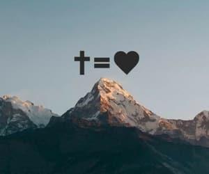 god, christian, and cross image