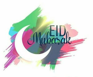 beauty, eid, and greetings image