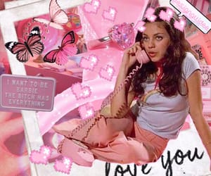90s, bambi pink, and 90s vibe image