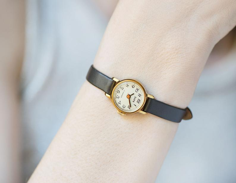 etsy, graduation gift, and watch for women image