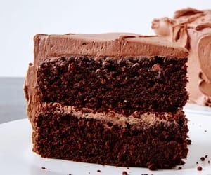 food and chocolate cake image