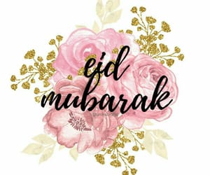eid, eid mubarak, and happy eid image