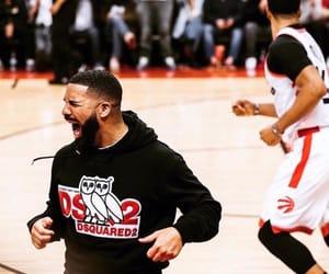 Basketball, toronto, and Drake image