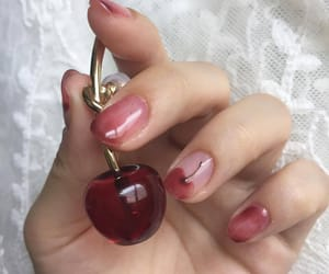 aesthetic, cherry, and gloss image