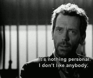 Dr. House, feeling, and hugh laurie image