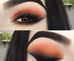 eyebrows, makeup, and cute image