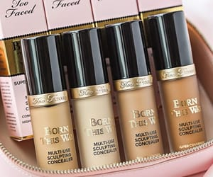 makeup, too faced, and concealer image