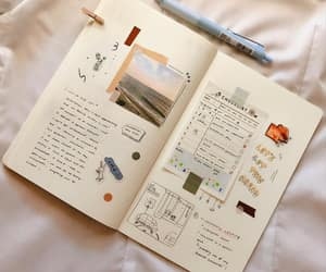 journal, cute, and journaling image
