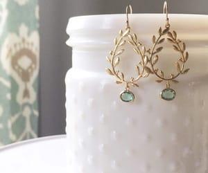 jewelry, wedding earrings, and dangle earrings image