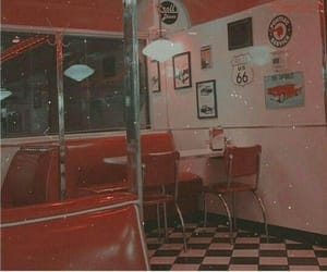 red, aesthetic, and vintage image