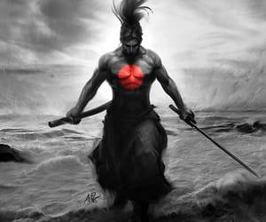 Artgerm, samurai, and OC image