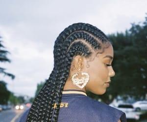black hair, black model, and fashion model image