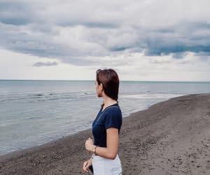 horizon, scenery, and moment image