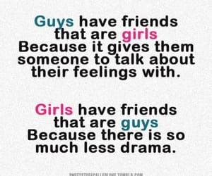 girl, guys, and quotes image