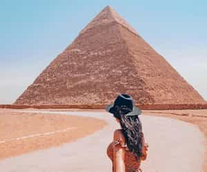 egypt, photography, and pyramids image