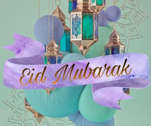 eid mubarak, عيد سعيد, and كل عام وانتم بخير image
