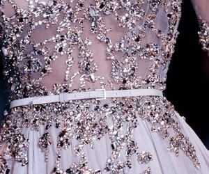 dress, lilac, and purple image