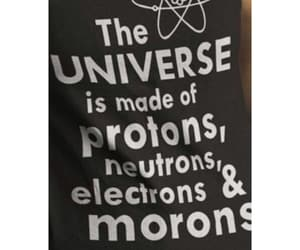chemistry, funny, and morons image