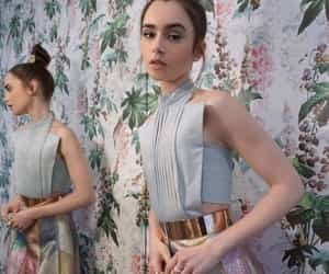 beauty, lily collins, and actress image