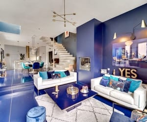 apartment, blue, and creative image