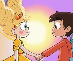 disney, star butterfly, and marco diaz image