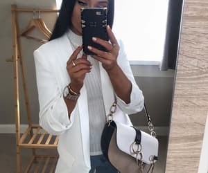 fashion, sunglasses, and woman girl image