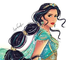 aladdin, art, and disney image
