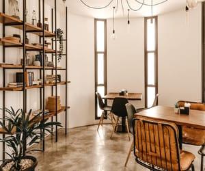 bar, beige, and cafe image
