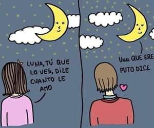 amor, gracioso, and luna image