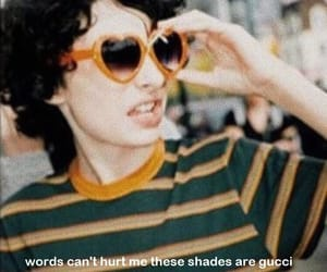 gucci, stranger things, and finn wolfhard image