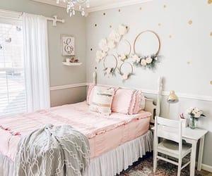 bedroom, diy, and floral image