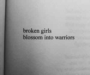 broken, girls, and warrior image