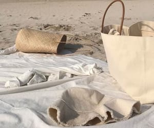 beach, aesthetic, and bag image
