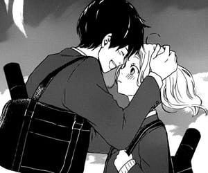 manga, cute, and love image