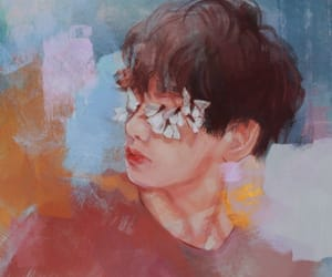 art, kpop, and bts image