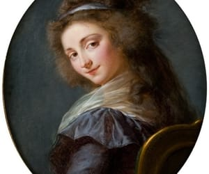 18th century, painting, and pastel image