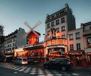 france, francia, and moulin rouge image