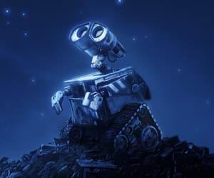 wall-e, disney, and pixar image