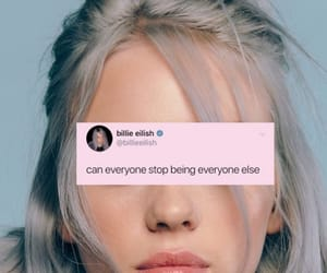 billie, girl, and billie eilish image