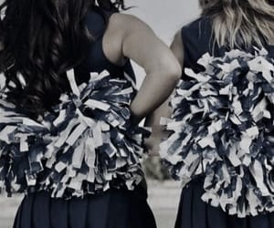 aesthetic, cheerleader, and pompom image