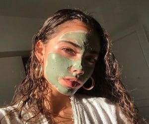 acne, pretty, and face masks image