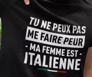 francais, ma femme, and peur image