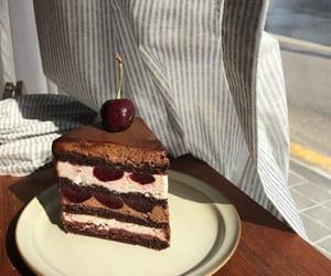 cake and sweet chocolate image