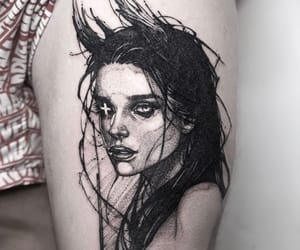 aesthetic, art, and body art image