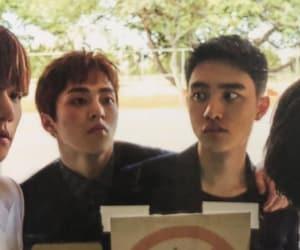 kyungsoo, xiumin, and d.o image