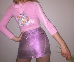 pink, fashion, and purple image