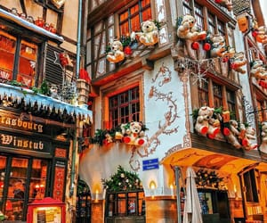 christmas, france, and architecture image