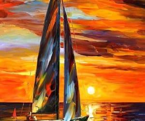 art, ocean, and artist image