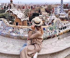 travel, Barcelona, and fashion image