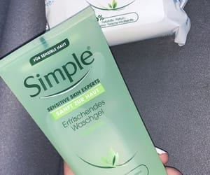 my photos, simple, and skincare image